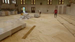 More than 1000 square meters in two sports facilities in Valle D'Aosta and Piemonte