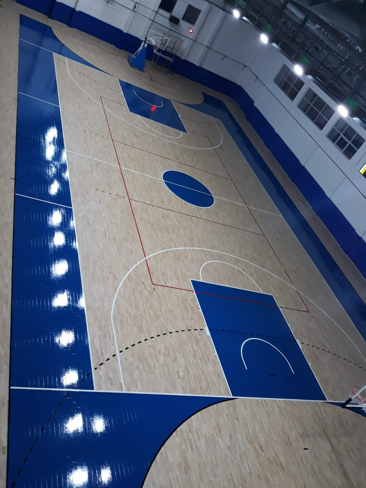 The new sports parquet in Turkey by Dalla Riva