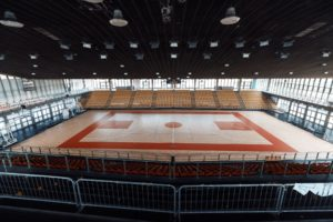 And to finish the year, a sports parquet for the women's Serie A basketball