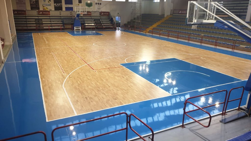 In Campania complete replacement of the flooring
