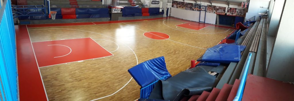 A new sports parquet for the PalaPerucatti of Siena