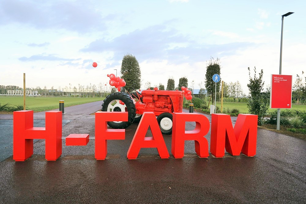 Campus H-Farm in Roncade: Dalla Riva Sportfloors is present