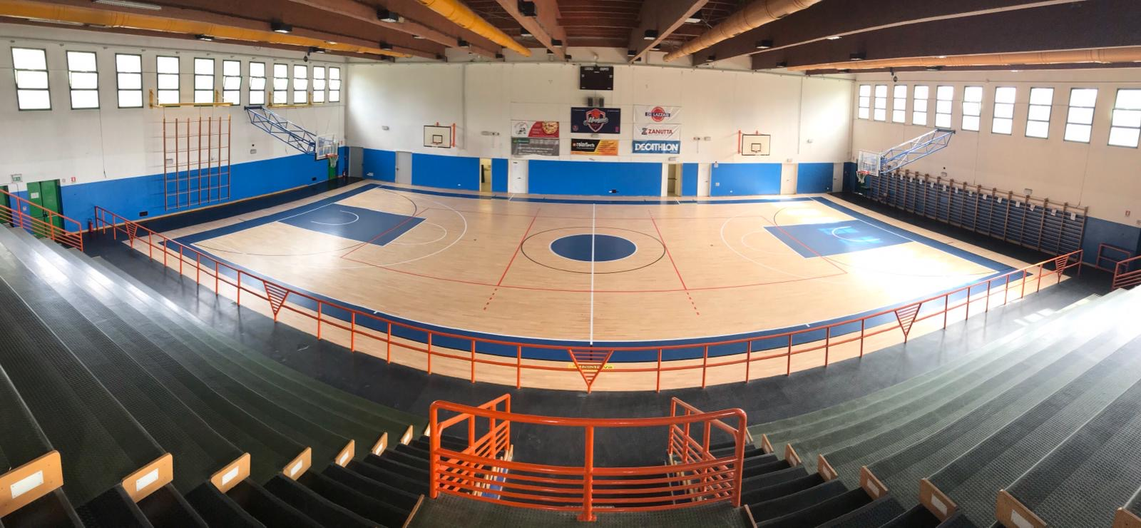 For great basketball a sports parquet like new