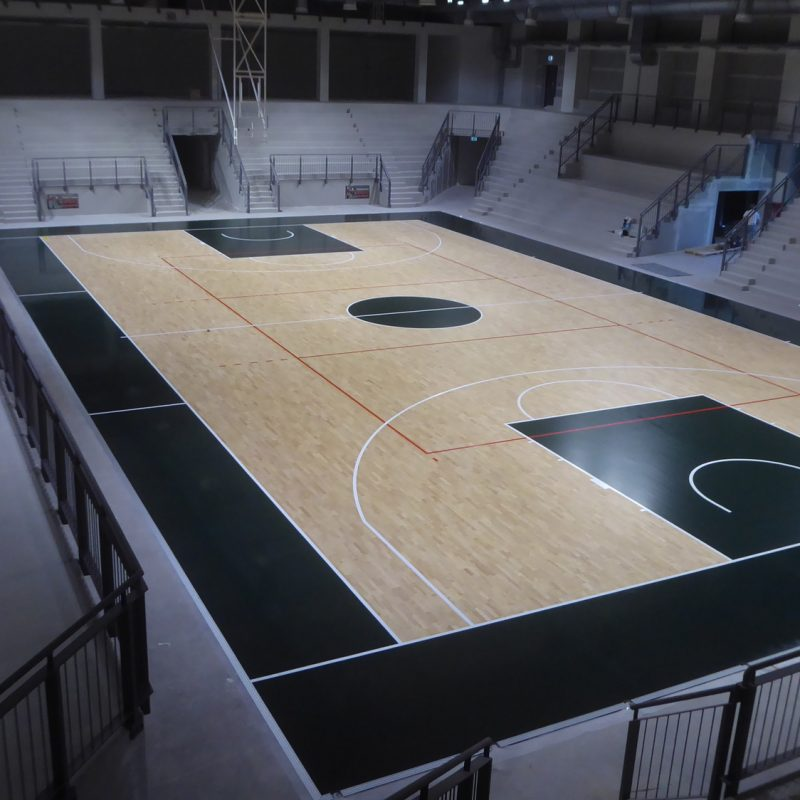 Only high level works for Dalla Riva Sporfloors
