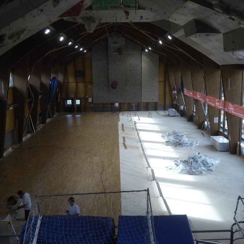 Completed half installation of our Jump System