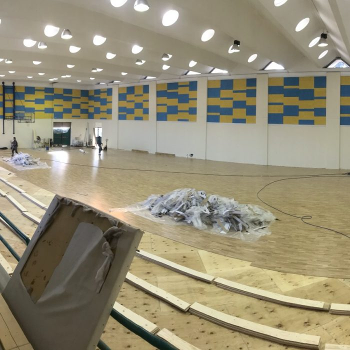 The face of the Treviso sports facility begins to change
