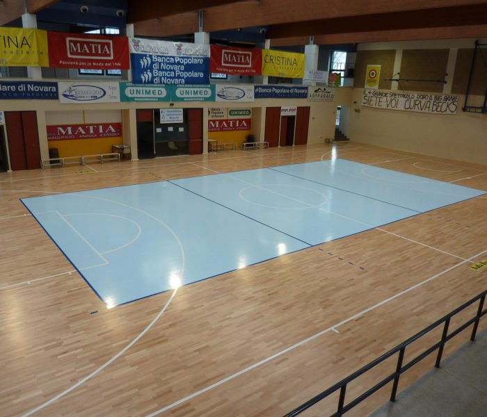 Jump system professional volleyball parquet sport floor dalla riva