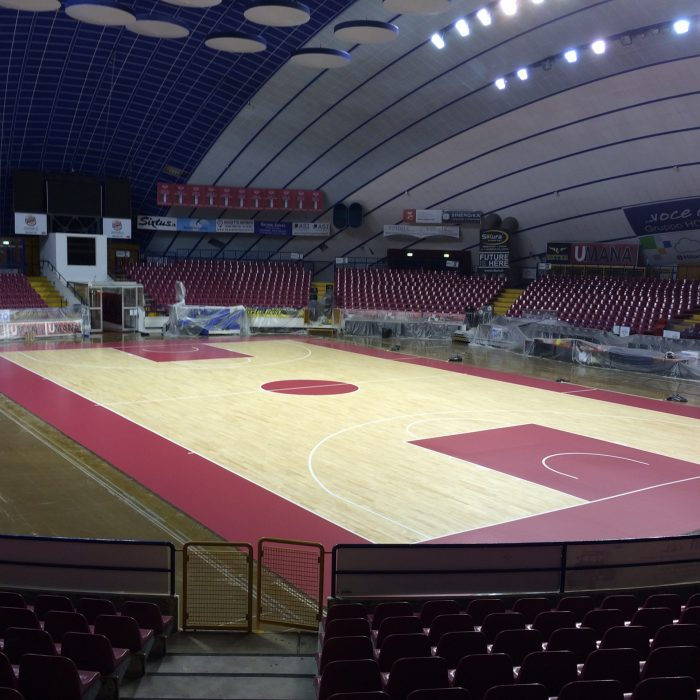 Venezia wooden sports flooring for basketball